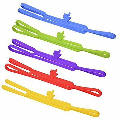 Silicone Finger Point Bookmarks Book Marker For School Supplies Stationery Gift,