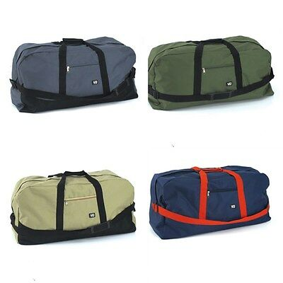 Duffle Bag  Duffel Gym Black Beige Blue Grey Large Mens Travel 70 x 32 x 27cm