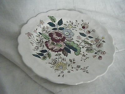 C4 Pottery Booths Stanway Plate 25cm 3D5A