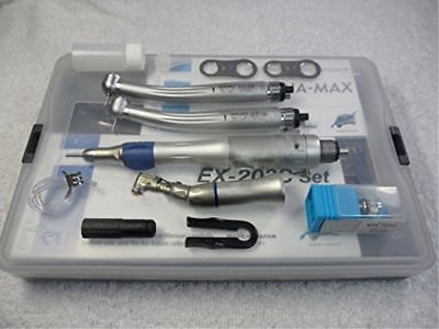 NSK Style Dental Push Button Handpiece Kit (EX203C+2*Pana-Max High Speed) 4Hole