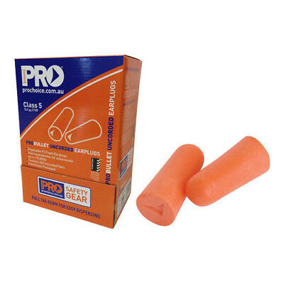 NEW! ProChoice Uncorded Ear Plugs - Box 200