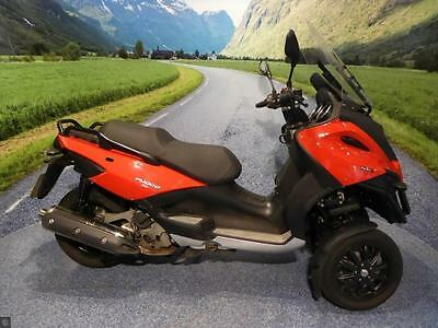 Gilera Fuoco 500 - Power, Smoothness, Fullness !!!