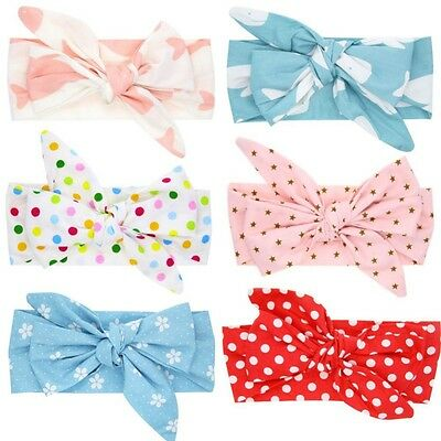 Toddler Newborn Girls Infant Headband Bow Flower Hair Band Accessories Headwear