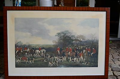 """""""Sir Richard Sutton and the quorn hounds"""" published John O Malley and Son"""