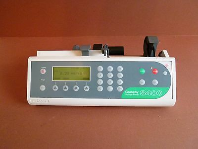 Graseby 3400 Anaesthesia Syringe Driver Infusion Pump Fluid Administration 3400