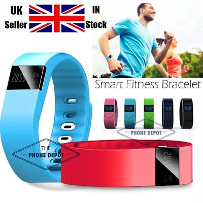 TW64 Smart Fitness Pedometer Bluetooth Bracelet Wristband Watch Activity Tracker