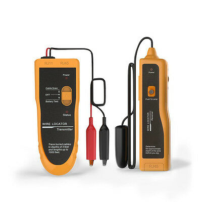 CA Ship NF816 Underground Cable Tester Wire Locator Tracker Lan With Earphone