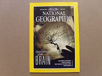 National Geographic Magazine - June 1995 - See Images For Contents