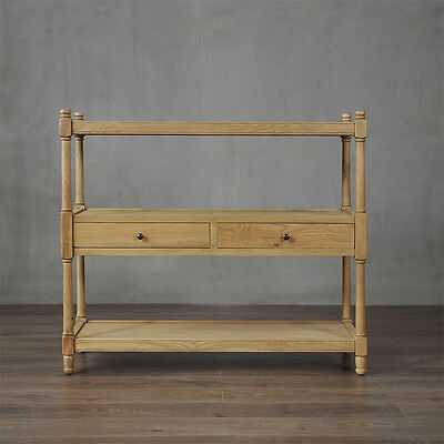 Latour Console Table French Provincial Hamptons American Oak