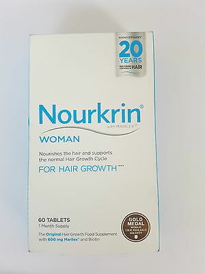 Nourkrin Woman 60 Tablets 1 Months Supply Long Expiry
