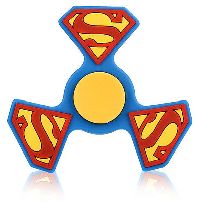 Superman Tri Fidget Spinner Hand Finger EDC Focus Desk Toy Gyro
