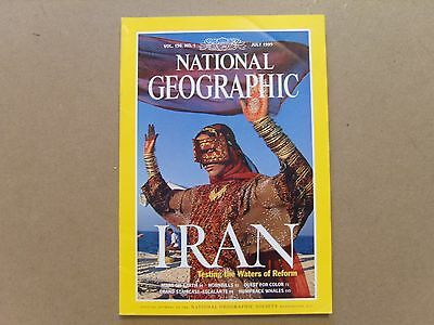 National Geographic Magazine - July 1999 - See Images For Contents