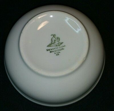 Shenango China Dinner Are Bowl Native American Indian Stamp