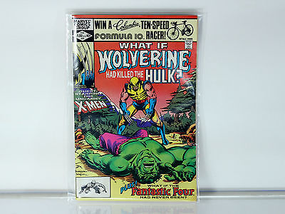 What if wolverine had killed the hulk? #31 1981 VF/NM (9.0) Great condition