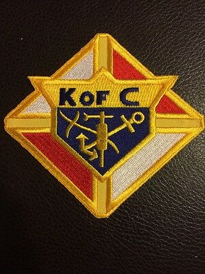 Knights Of Columbus 4x4 Inch Patch