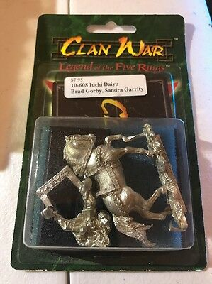 Clan War AEG Iuchi Daiyu L5R Legend Of The Five Rings
