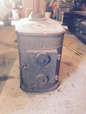 Lange Cast Iron Wood Stove