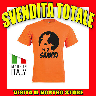 Sampei Pesca Fishing Uomo Divertente Happy T Shirt Idea Regalo Per Papa' Amo