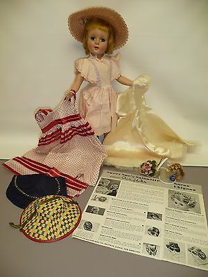 """17"""" Sweet Sue w/Clothing Including a Saran Chignon w/Instructions, Comes w/Stand"""