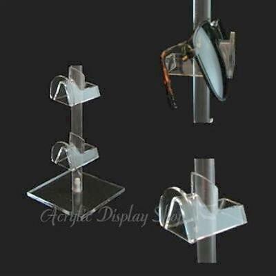 Acrylic Eyewear Display Stand for 2 Pair Eyeglasses or Sunglasses