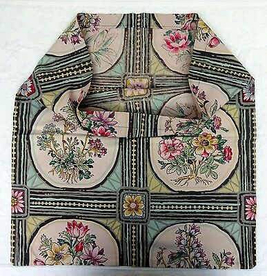 Vintage Feedsack Feed Sack Floral Bag Fabric Quilts Craft Needlework 30's 40's