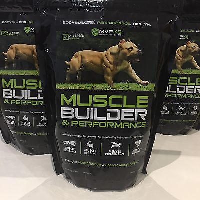 MVP K9 Muscle Builder And Performance - Dog Supplement With Creatine