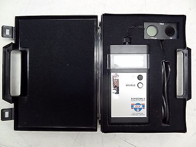 Ely Chemical Company Limited Elyscan 2 Radiometer / Photometer W/ Original Case