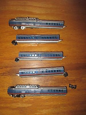 BACHMANN N-SCALE TURBO-TRAIN SET w Free ship!