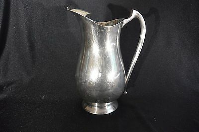 SHEFFIELD SILVERPLATE Water Pitcher with Ice Lip