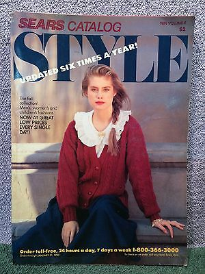 Sears Style  Catalog 1989 Fall Collection