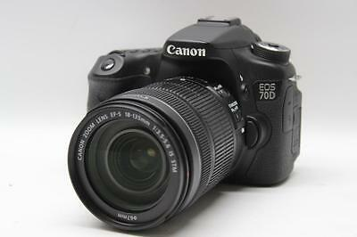 Canon EOS 70D 20.2 MP Digital SLR Camera w/ EF-S 18-135mm f/3.5-5.6 IS STM Lens