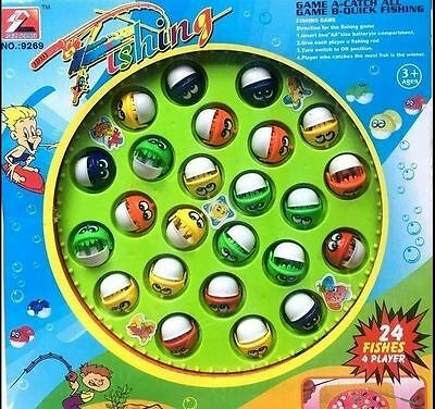 New Kids Fishing Game Fish Board Game Set Electric Educational Kids Fishing Toy