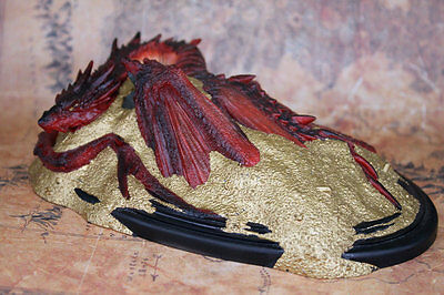 THE-LORD-OF-THE-RINGS-Smaug-Resin-statue-Decoration-NEW