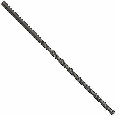 Cleveland 950E High Speed Steel Extra Long Length Drill Bit, Black Oxide, Round