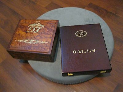 Mixed Lot 4 Wooden Cigar Boxes