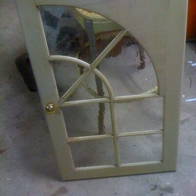 Vintage  Cabinet Door with Glass