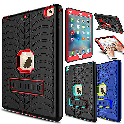 Shockproof Hybrid Hard Kickstand Case Cover For iPad 9.7 Inch 2017/2018/5th Gen