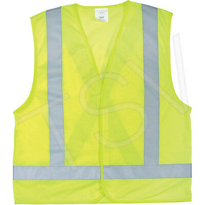 5 x Traffic Safety Vests High Visibility Lime-Yellow