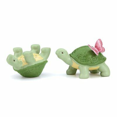 Lenox Butterfly Meadow Figural Turtles Salt and Pepper Set Kitchen Table Delight