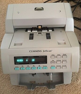 Cummins Jetscan Currency Counter Model 4065