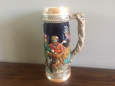 "VIntage BEER STEIN 9.5""  Fred Roberts  San Francisco Made in Japan"