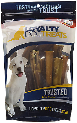 LoyaltyDogTreats All-Natural and Healthy Dehydrated Odourless Bully Sticks for D