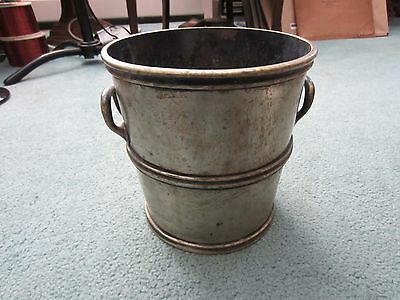 Antique Reed & Barton Silver Ice Bucket Wine Chiller Silver Soldered