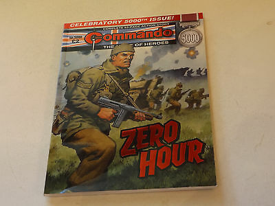Commando War Comic Number 5000,2017 Issue,v Good For Age,this Years Issue,rare..