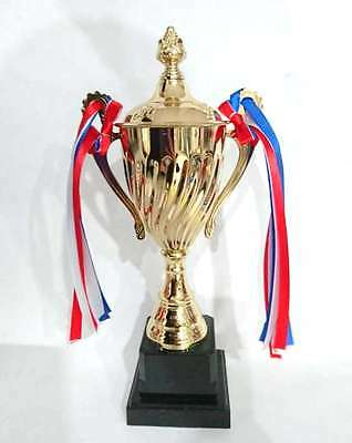 New Large Novelty Winners Trophy Prize Cup Plastic Gold Winner Cup Party Favors