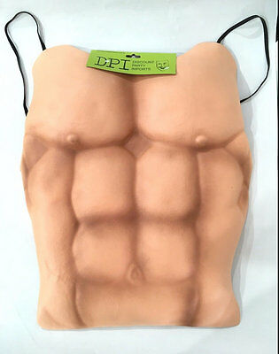 New Adults Muscle Costumes Fake Muscle Chest Party Costume Fancy Dress Up