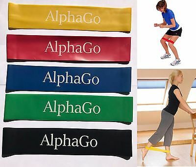 Resistance Band Loop Heavy Duty Power GYM Fitness Exercise YOGA WORKOUT