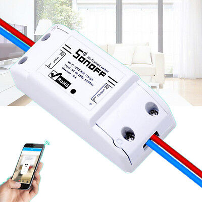 WiFi Smart Switch Timer IOS Android Fernbedienung Lamp Steckdose Socket Haus