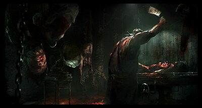 """015 The Evil Within - Ghost Survival Horror Shooting Game 26""""x14"""" Poster"""