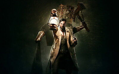 """017 The Evil Within - Ghost Survival Horror Shooting Game 22""""x14"""" Poster"""